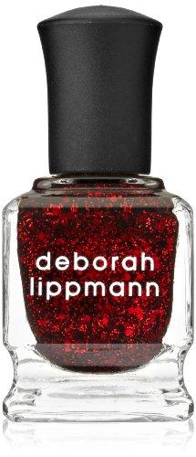 deborah lippmann Glitter Nail Lacquer, Ruby Red Slippers