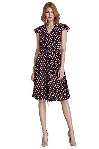 V Ausschnitt Nife Freizeitkleid 3 mit Damen Modell Kurzen Kleid Casual Ärmeln und FF8zw1Tq