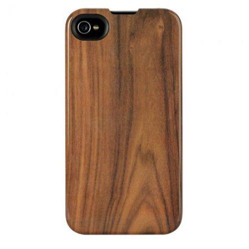 Agent18 KATA18IP41001 Hard Cover für Apple iPhone 4/4S SlimShield Limited Wood