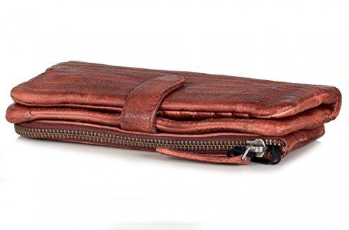 FREDsBRUDER Straight Cut S. C. Wallet Lucky Rustic Arancione