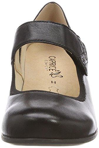 Nero Nappa con Black Caprice 24301 Donna 22 Tacco Scarpe 4OOvXq