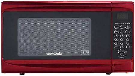 Opinión sobre Cookworks P70B - Microondas estándar (700 W), color rojo