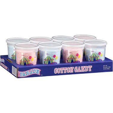 ParadeTM Cotton Candy - 8/2oz tubs (pack of 2)]()