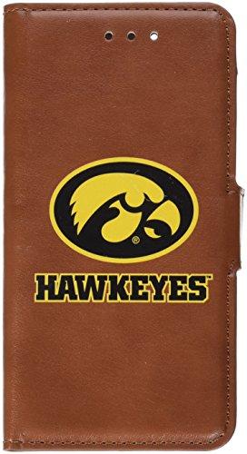 GameWear NCAA Iowa Hawkeyes Football iPhone Tech Wallet, One Size, Brown (Hawkeyes Iowa Football Brown)