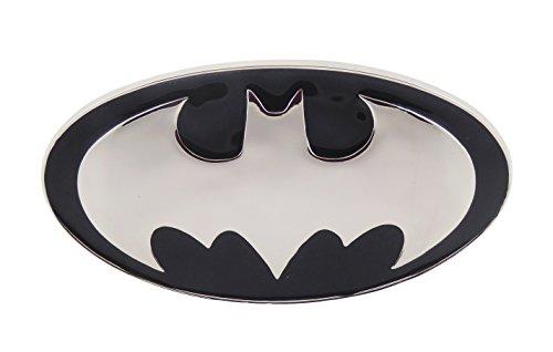 Yellow Black Batman Logo Belt Buckle (3d Black and Silver)