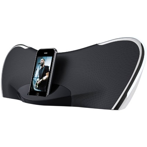 Coby CSMP145 Butterfly Digital Speaker System for iPod and iPhone, Black (Discontinued by manufacturer) Coby Digital Speaker System