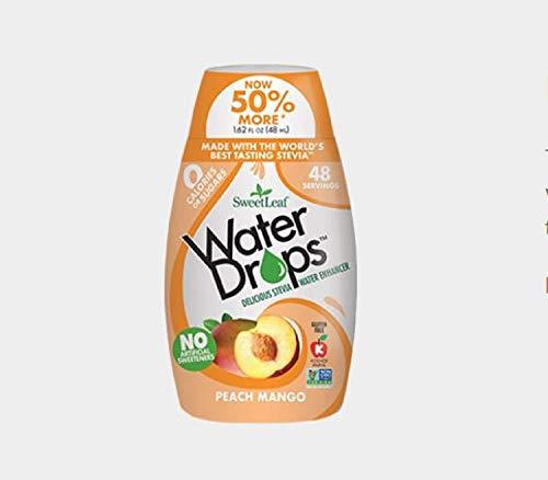 Sweetleaf Stevia Natural Water Drops Peach Mango, 1.62 Ounce (Pack of 6) (Best Sweet Peach Wine)