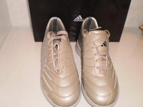 Adidas Kinderfussballschuhe F10+ TRX TF, silber/mattgold, Gr. UK 4,5