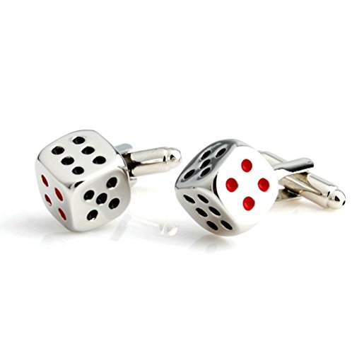 Salutto Man's Dice Cufflinks with Gift Box