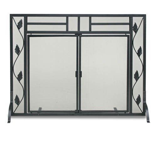 Garden Leaf Screen With Doors by Napa Forge - Napa Forge Leaf