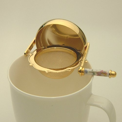 MINTON Rotation Tea Strainer Gold plating HH050G from Japan