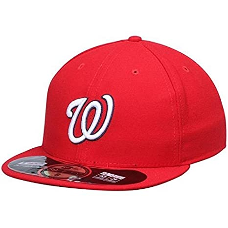 0835a9c44a7a7 New Era Washington Nationals MLB Authentic Collection 59FIFTY On Field Cap  NewEra 59Fifty  7