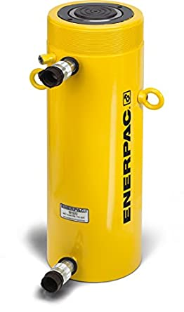 """Enerpac RR-1012 Double-Acting Hydraulic Cylinder with 10 Ton Capacity, Double Port, 12.00"""" Stroke Length"""