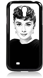 Audrey Hepburn-Black and White- Hard Black Plastic Snap - On Case --Samsung? GALAXY S3 I9300 - Samsung Galaxy S III - Great Quality!