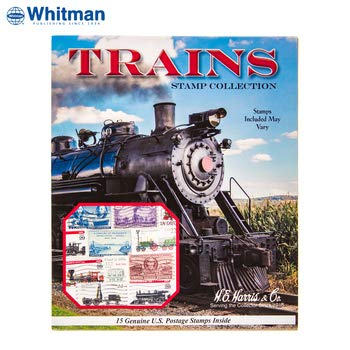 - Trains Postage Stamp Collection