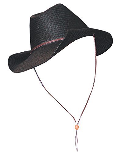 Black Cowboy Hat Western Cowboy Costume Hat Outback Sizes: One (Wild West Costume Ideas)