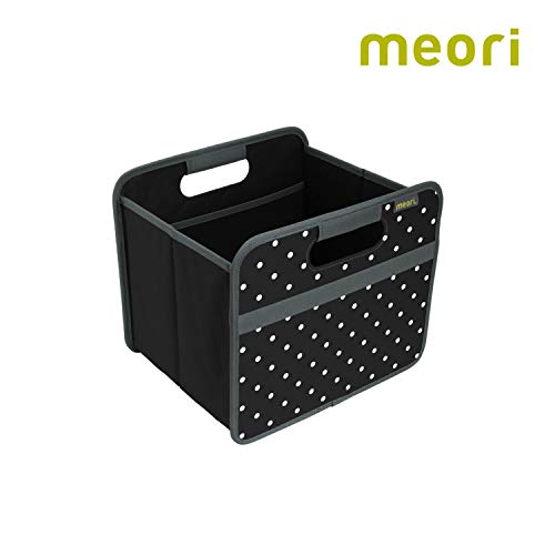 meori Classic Small, Lava Black with Dots, Collapsible Box to Organize, Store and Carry Anything and - Lava Dots