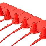 Leadseals(R) 100 Plastic Tamper Seals, Zip Ties for