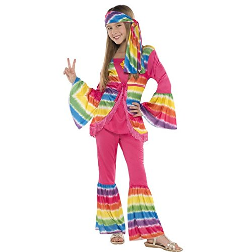 amscan Groovy Hippie Girl Costume | Disco 70s -
