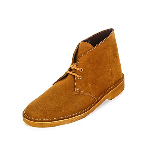 Uomo bronze Desert Originals brown Stivali Clarks Boot Chukka Marrone wfvZcqXB