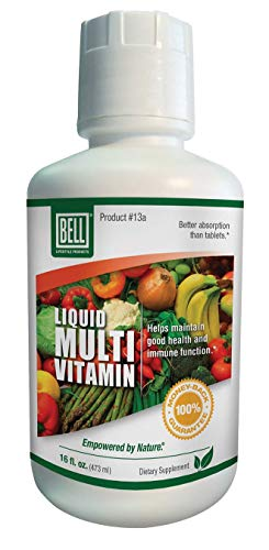 Liquid Multivitamin by Bell Lifestyle Products | Superior Absorption of Vitamins and Minerals | Your First Step in Supporting The Immune System | Sold Directly by The Manufacturer