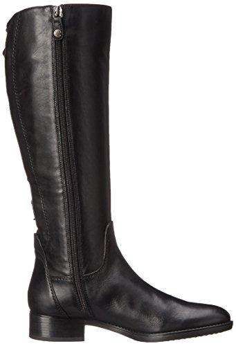 Geox D FELICITY A - Botas de cuero para mujer Schwarz (BLACKC9999)