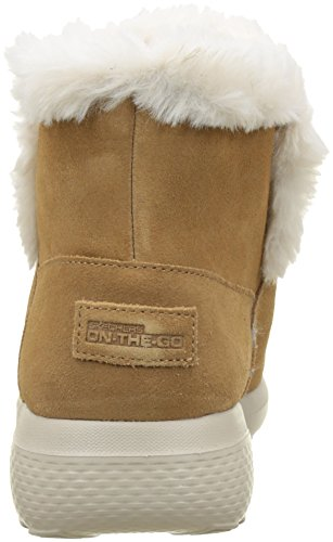 Skechers Damen On-The-Go City-Bundle Winterstiefel Kastanie