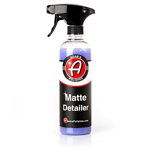 Adam's Matte Detailer - Specialized Formulation Perfect for any Matte, Satin, and Gloss Finishes - Does Not Add Any Level of Shine - Easy to Use, With No Streaking or (Adam Satin)