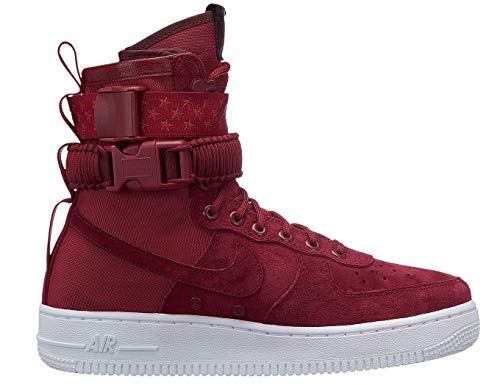 Red Femme NIKE Crush Multicolore Crush Burgundy Basketball Red White SF 601 Crush W Af1 Chaussures de 818Ywr