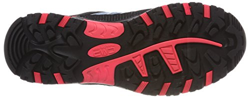 Rigel Senderismo red de Turquesa CMP Unisex Clorophilla Fluo High Zapatos Rise Adulto 1q7W7wXd