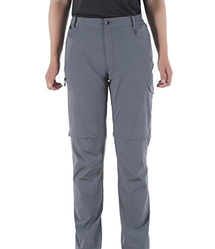 Makino Women's Long/Convertible Quick Dry Hiking Pants With Waistband W36/L32 Light (Convertible Kayak)