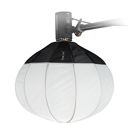 Interfit Flash Meter - Fotodiox Lantern Softbox 26in (65cm) Globe - Collapsible Globe Softbox with Bowens Speedring for Bowens, Interfit and Compatible Lights