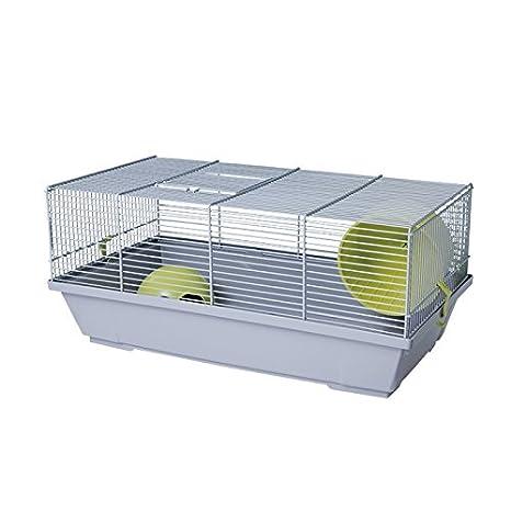 VOLTREGA Jaula Hamster Ruso Volt 116 Gris: Amazon.es: Productos ...