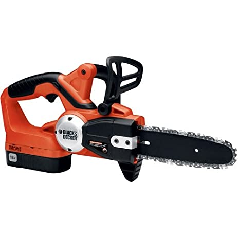 Amazon black decker ccs818 18 volt cordless electric chain black decker ccs818 18 volt cordless electric chain saw older model greentooth Choice Image