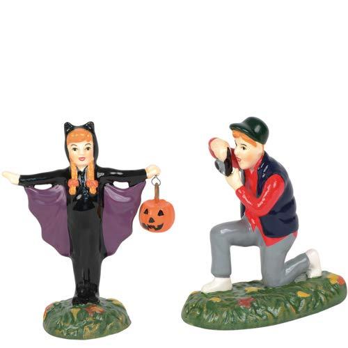 Department 56 Snow Village Halloween You Look Batastic! -