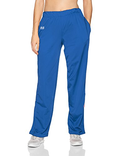 Intensity Womens Brushed Tricot Warmup Pant, Royal, Small