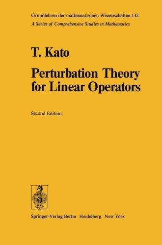 Perturbation Theory For Linear Operators Classics In Mathematics [Pdf/ePub] eBook