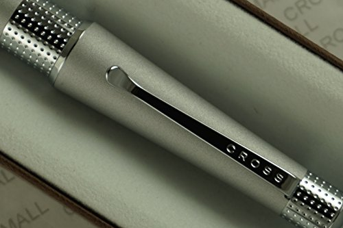 Cross Limited Edition Beverly Matte Satin with Cross signature pronounced center Band Selectip Rollerball Pen.A great wedding , birthday, graduation & Christmas - Center Beverly