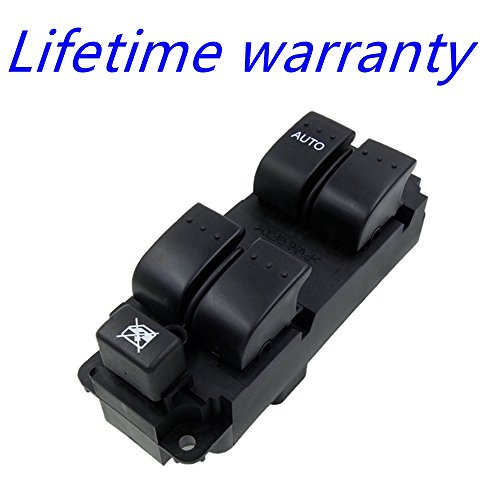 Power Window Control Switch - Front Left Driver Side,For Mazda 3 2004-2009,2009 Mazda 3 ()