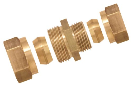 Boutt 3117083 Reducing Bicone Fitting, Pipe Diameter 10-08 mm, Brass