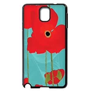Samsung Galaxy Note 3 Phone Case Flowers - Beautiful red poppies