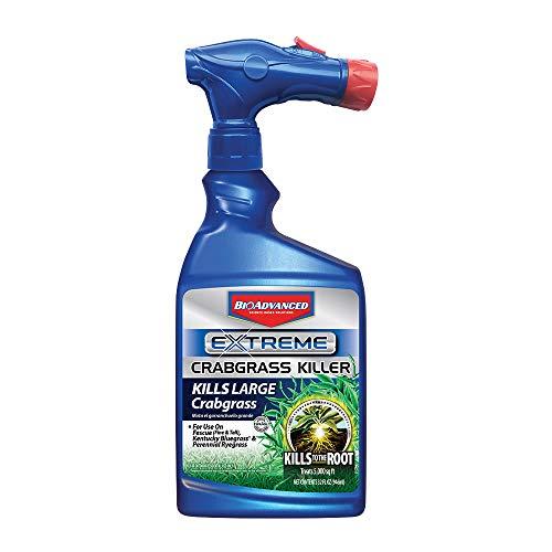 BioAdvanced 704119A Extreme Crabgrass Herbicide Weed Killer, 32 oz, Ready-to-Spray