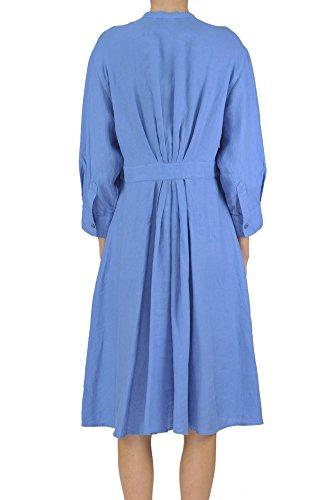 Kleid Aspesi Damen MCGLVS003100E Blau Leinen qXUSHUI