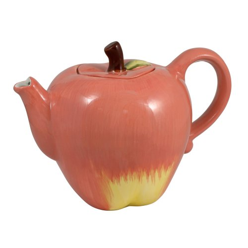 Pfaltzgraff Plymouth Sculpted Apple Teapot