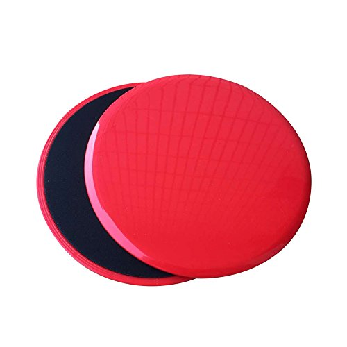 Gliding Discs Core Workout Exercise Sliders 4-FQ 2 Dual Sided Gliding Sliding...