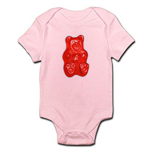 CafePress Red Gummi Gummy Bear Infant Bodysuit - Cute Infant Bodysuit Baby (Gummy Bear Suit)