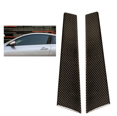 2008-2010 Nissan Altima Coupe Carbon Fiber Door Pillar Post (Carbon Real Door Pillars Fiber)