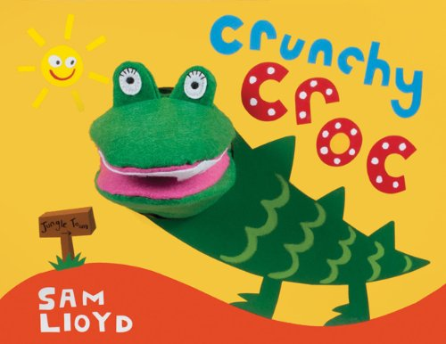 Crunchy Croc (Animal Puppet Play) (Croc Toy)