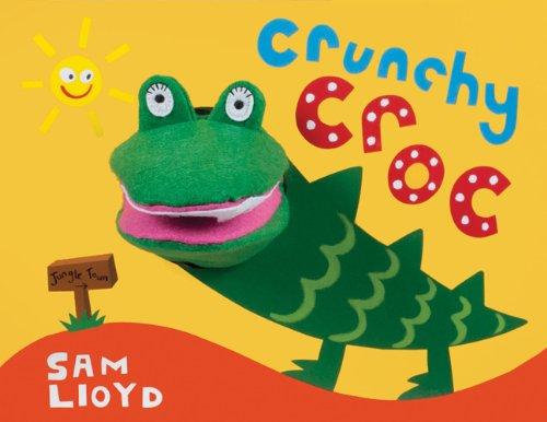 Crunchy Croc (Animal Puppet Play) (Toy Croc)