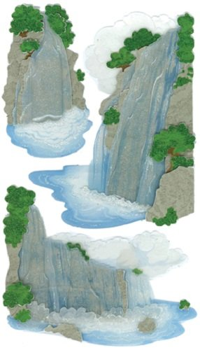 Dimensional Waterfall - Jolee's Boutique Vellum Waterfall Dimensional Stickers (50-50084)